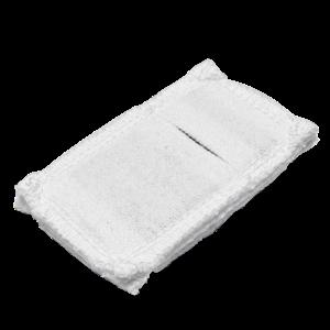 Электрод токопроводящий терапевтический с токораспределительным элементом из углеродной ткани многоразовый фланелевый 40x70 мм. (28 кв. см) Цена за 1 шт.