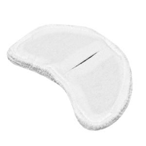 Электрод токопроводящий терапевтический с токораспределительным элементом из углеродной ткани многоразовый фланелевый «Горловой» 70x110 мм. (50 кв. см.) Цена за 1 шт.