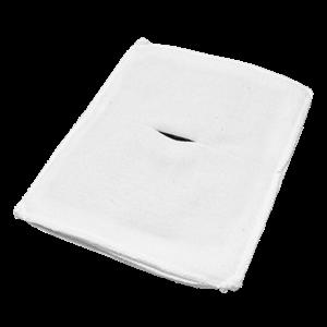 Электрод токопроводящий терапевтический с токораспределительным элементом из углеродной ткани многоразовый фланелевый 150x200 мм. (300 кв. см) Цена за 1 шт.