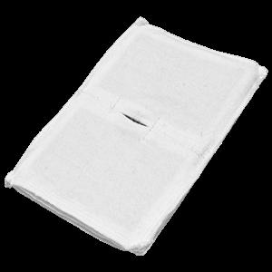 Электрод токопроводящий терапевтический с токораспределительным элементом из углеродной ткани многоразовый фланелевый 120x170 мм. (204 кв. см) Цена за 1 шт.