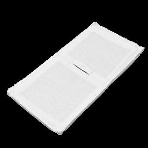 Электрод токопроводящий терапевтический с токораспределительным элементом из углеродной ткани многоразовый фланелевый 100x200 мм. (200 кв. см) Цена за 1 шт.