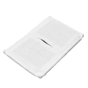 Электрод токопроводящий терапевтический с токораспределительным элементом из углеродной ткани многоразовый фланелевый 90x140 мм. (126 кв. см) Цена за 1 шт.