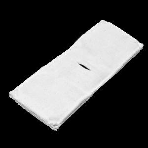 Электрод токопроводящий терапевтический с токораспределительным элементом из углеродной ткани многоразовый фланелевый 80x200 мм. (160 кв. см) Цена за 1 шт.