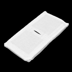 Электрод токопроводящий терапевтический с токораспределительным элементом из углеродной ткани многоразовый фланелевый 80x160 мм. (128 кв. см) Цена за 1 шт.
