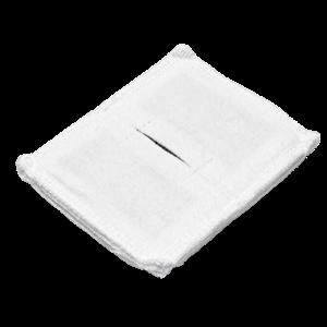 Электрод токопроводящий терапевтический с токораспределительным элементом из углеродной ткани многоразовый фланелевый 80x100 мм. (80 кв. см) Цена за 1 шт.