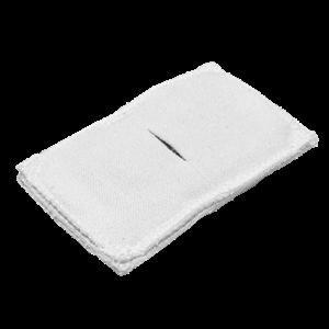 Электрод токопроводящий терапевтический с токораспределительным элементом из углеродной ткани многоразовый фланелевый 60x100 мм. (60 кв. см) Цена за 1 шт.