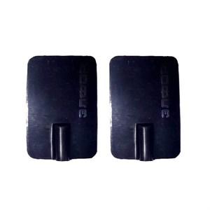 Электрод резиновый многоразовый токопроводящий для Элфор и Поток. 40x60 мм. Под штекер 2 мм. Пара.