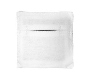 Электрод токопроводящий терапевтический с токораспределительным элементом из углеродной ткани многоразовый фланелевый 70x70 мм. (49 кв. см) Цена за 1 шт.