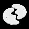 Электрод токопроводящий терапевтический с токораспределительным элементом из углеродной ткани многоразовый фланелевый «Полумаска Бергонье» трехлопастной 120x170 мм. (204 кв. см.) Цена за пару. - фото 15195