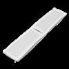 Электрод токопроводящий терапевтический с токораспределительным элементом из углеродной ткани многоразовый фланелевый 40x200 мм. (80 кв. см) Цена за 1 шт. - фото 15210
