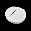 Электрод токопроводящий терапевтический с токораспределительным элементом из углеродной ткани многоразовый фланелевый «Глазной» (круг, диаметр 50 мм., 20 кв. см.) Цена за 1 шт. - фото 15216