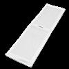 Электрод токопроводящий терапевтический с токораспределительным элементом из углеродной ткани многоразовый фланелевый 140x500 мм. (700 кв. см) Цена за 1 шт. - фото 15226