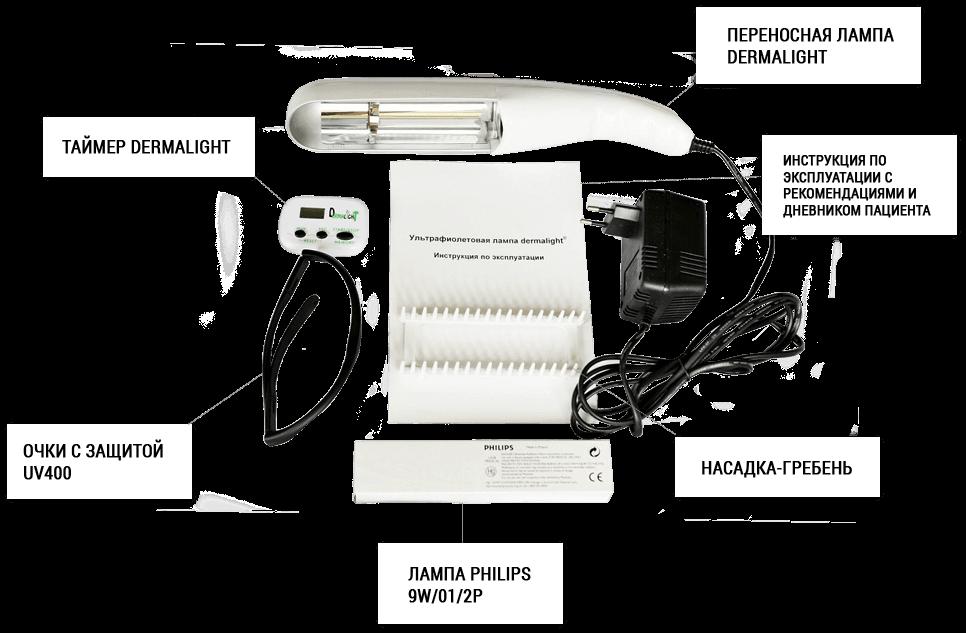 Лампа для лечения псориаза -УФИК